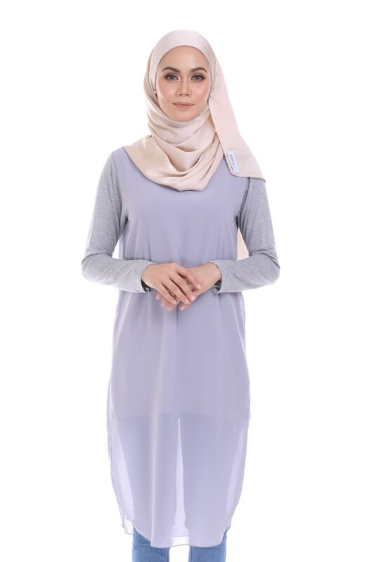 Habra blouse muslimah foxy flair comfort