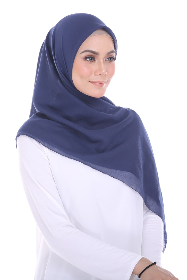habra hijab eyelash bawal cotton