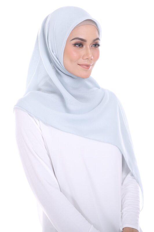 habra hijab eyelash bawal cotton