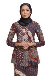 Habra Haute Kara Kebaya Batik Kebaya Moden Kebaya Modern Baju Kurung Batik Baju Kebaya Malaysia Batik Indonesia Batik Malaysia Raya Koleksi Raya 2019 KR39