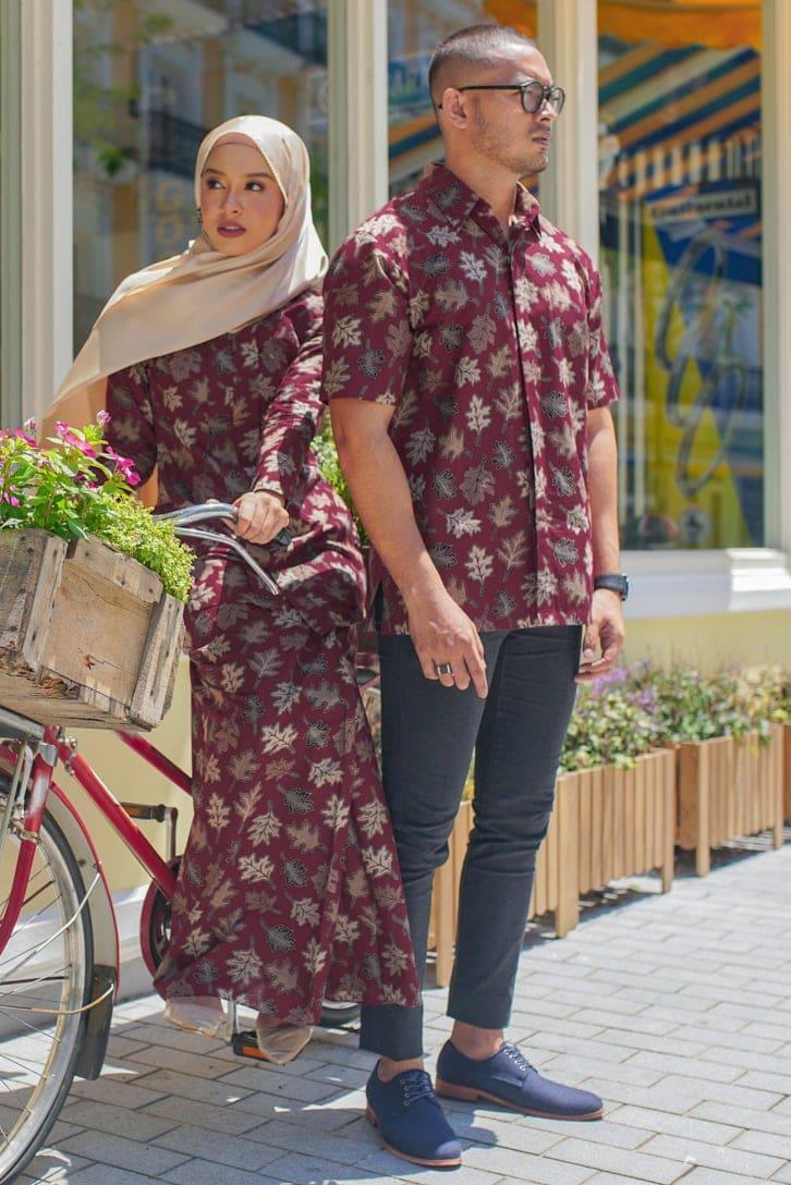 habra haute couple set batik melaka