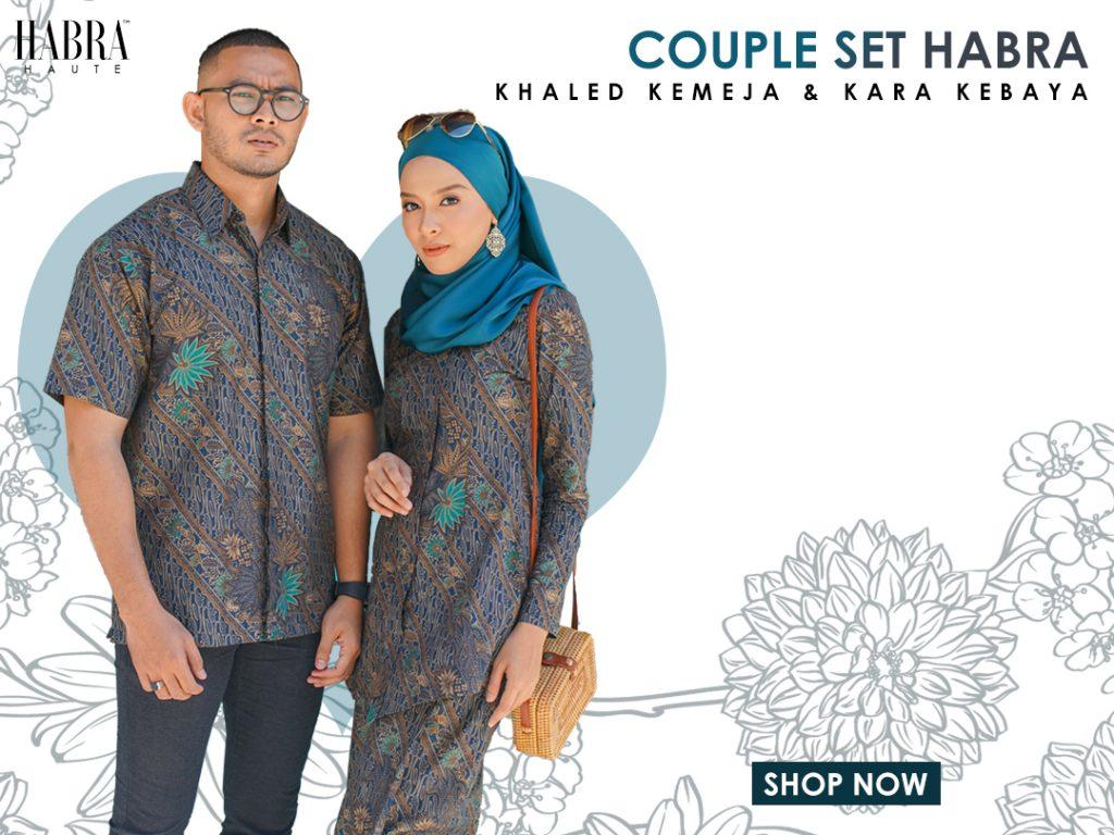 habra haute kara kebaya batik couple set batik lelaki kebaya melaka batik indonesia malaysia mobile