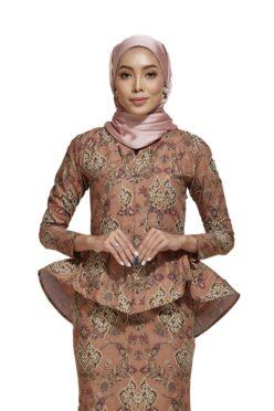 habra haute kaisara kebaya peplum batik indonesia batik malaysia kebaya moden premium kurung moden