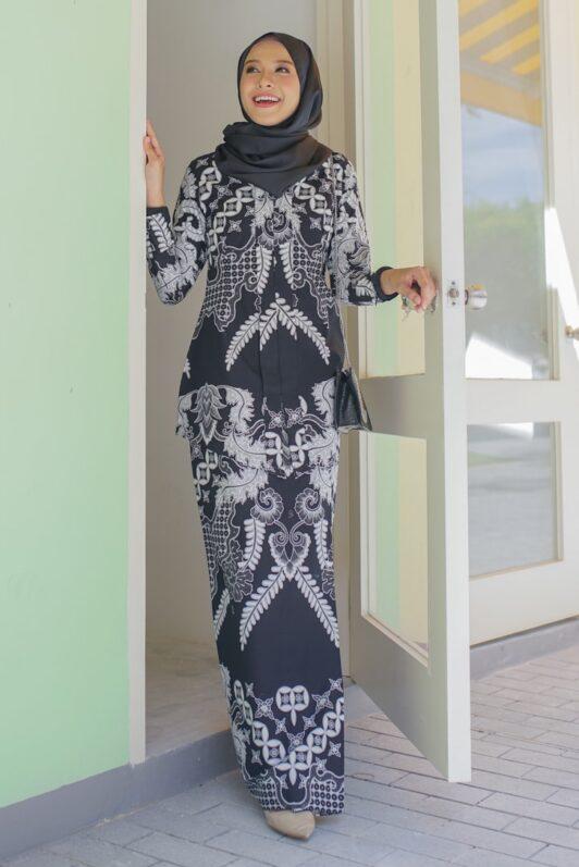 habra haute kara kebaya batik indonesia batik malaysia kebaya moden premium