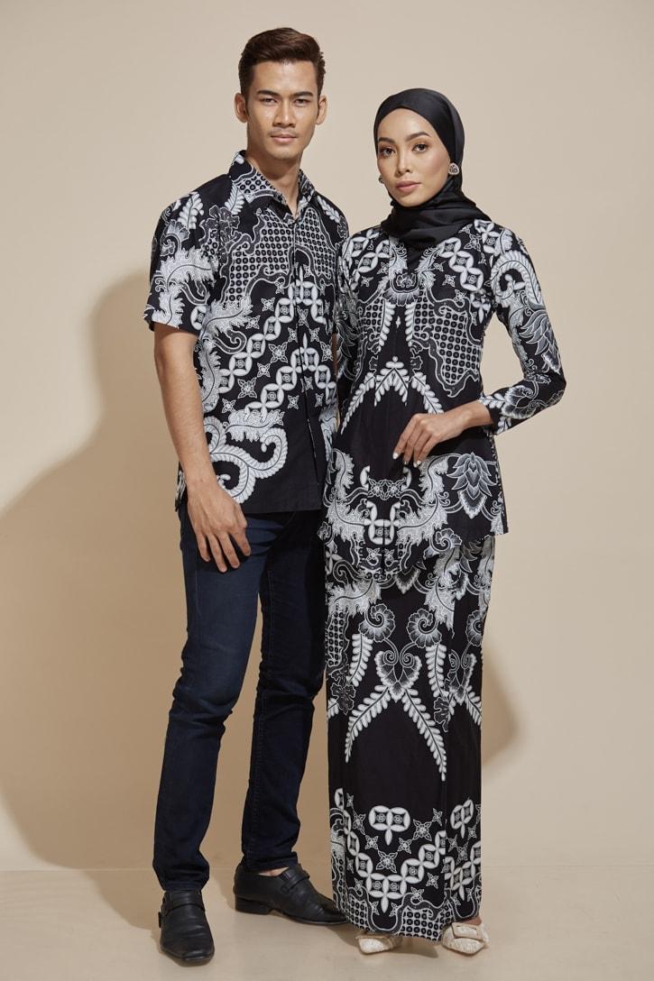 habra haute kara kebaya peplum batik indonesia batik malaysia kebaya moden premium kurung moden kemeja batik kr40 kh40