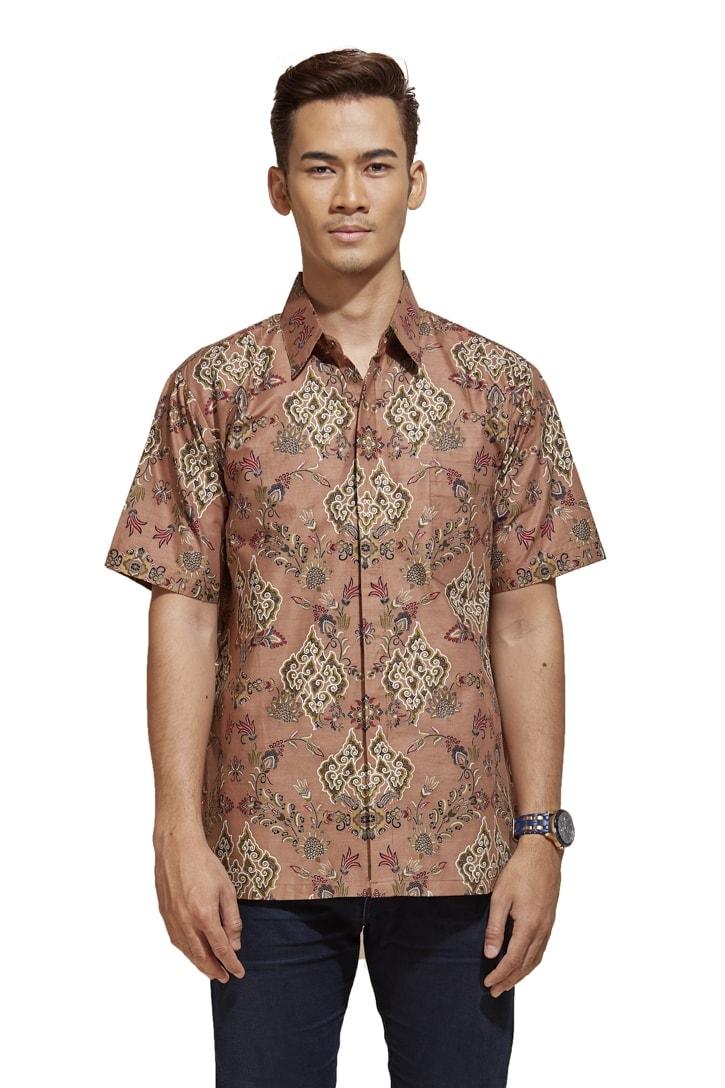 habra haute khaled kemeja batik kebaya batik indonesia batik malaysia kebaya moden premium kurung moden couple set batik kh40 (2)