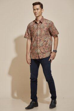 habra haute khaled kemeja batik kebaya batik indonesia batik malaysia kebaya moden premium kurung moden couple set batik kh41 (5)