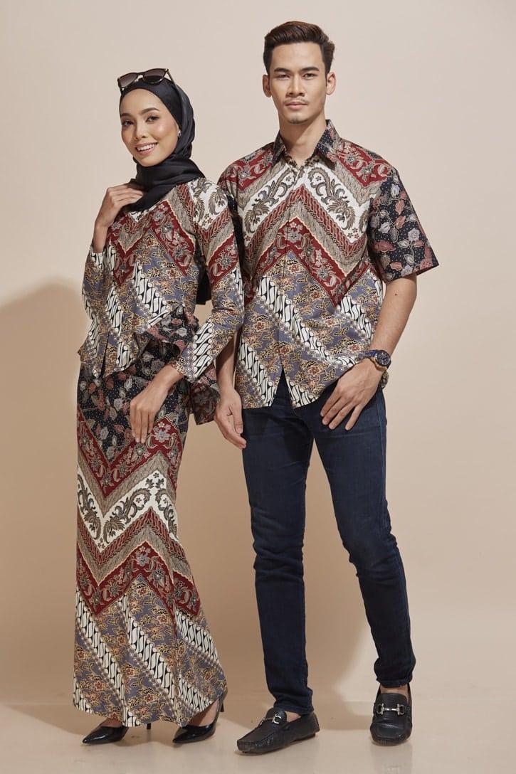 Khaled Kemeja Batik KH47 HABRA Fashion Gallery