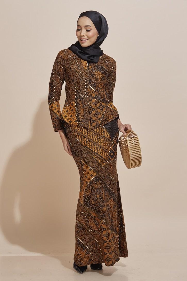 Kaisara Kebaya Peplum Batik Code KS12 HABRA Fashion