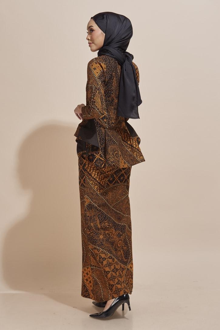 Habra Haute Kaisara Kebaya Peplum Batik Kebaya Moden Kebaya Modern Baju Kurung Batik Baju Kebaya Malaysia Batik Malaysia Batik Indonesia Koleksi Raya 2019 KS12