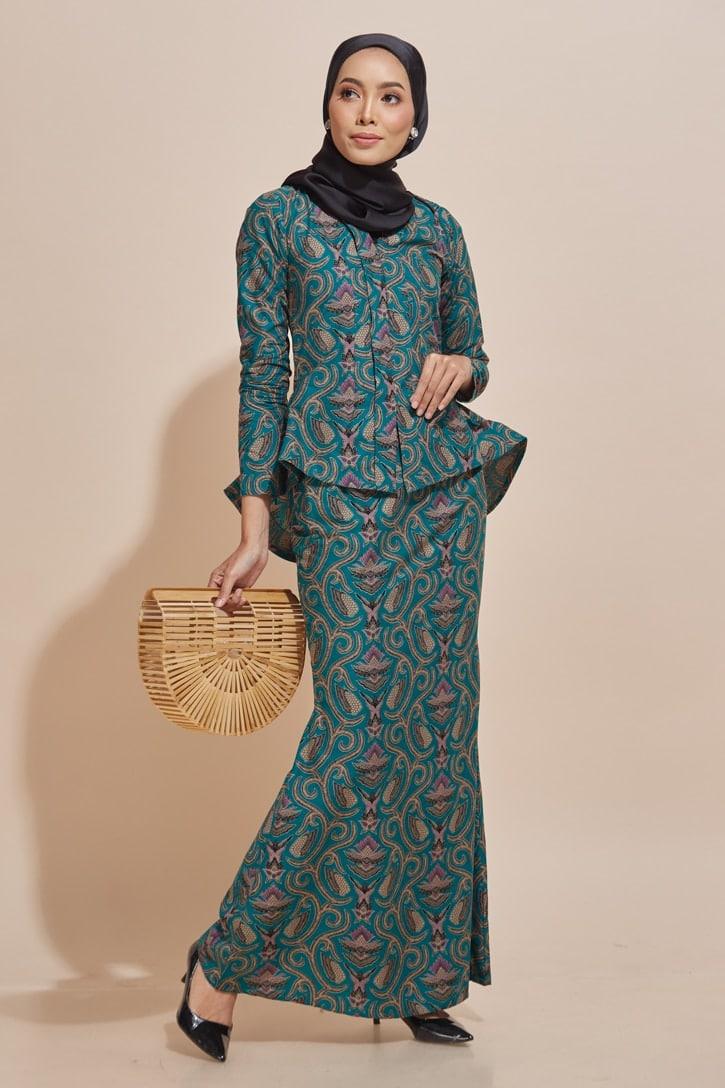 Kaisara Kebaya Peplum Batik Code KS14 HABRA Fashion