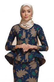 Habra Haute Kaisara Kebaya Peplum Batik Kebaya Moden Kebaya Modern Baju Kurung Batik Baju Kebaya Malaysia Batik Malaysia Batik Indonesia Koleksi Raya 2019 KS16
