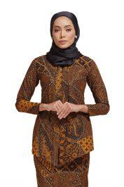 Habra Haute Kara Kebaya Batik Kebaya Moden Kebaya Modern Baju Kurung Batik Baju Kebaya Malaysia Batik Indonesia Batik Malaysia Raya Koleksi Raya 2019 KR48