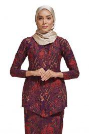 Habra Haute Kara Kebaya Batik Kebaya Moden Kebaya Modern Baju Kurung Batik Baju Kebaya Malaysia Batik Indonesia Batik Malaysia Raya Koleksi Raya 2019 KR51