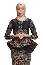 habra haute kebaya batik malaysia indonesia batik cotton kebaya moden kebaya peplum kebaya batik jawa kebaya batik modern kebaya nyonya kebaya batik 2019 kaisara kebaya batik ks32
