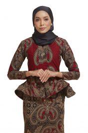 habra haute kebaya batik malaysia indonesia batik cotton kebaya moden kebaya peplum kebaya batik jawa kebaya batik modern kebaya nyonya kebaya batik 2019 kaisara kebaya batik ks34