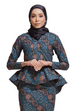 habra haute kebaya batik malaysia indonesia batik cotton kebaya moden kebaya peplum kebaya batik jawa kebaya batik modern kebaya nyonya kebaya batik 2019 kaisara kebaya batik ks35
