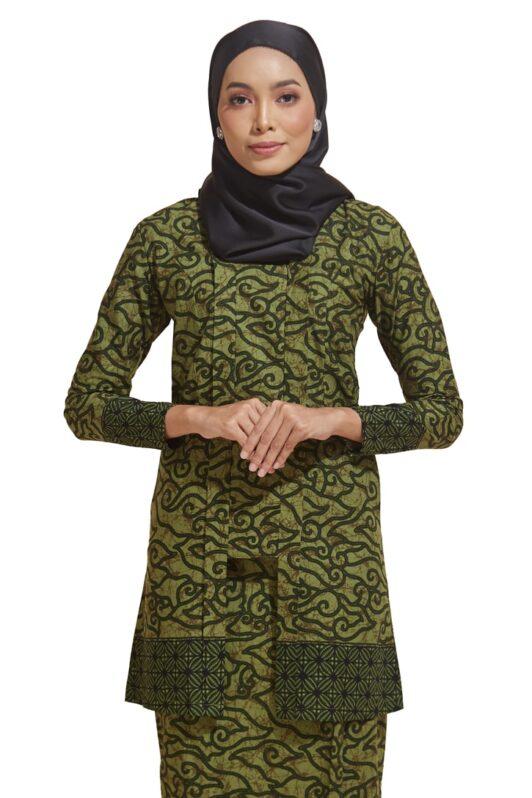 habra haute kebaya batik malaysia indonesia batik cotton kebaya moden kebaya peplum kebaya batik jawa kebaya batik modern kebaya nyonya kebaya batik 2019 kyna kebaya batik ky05