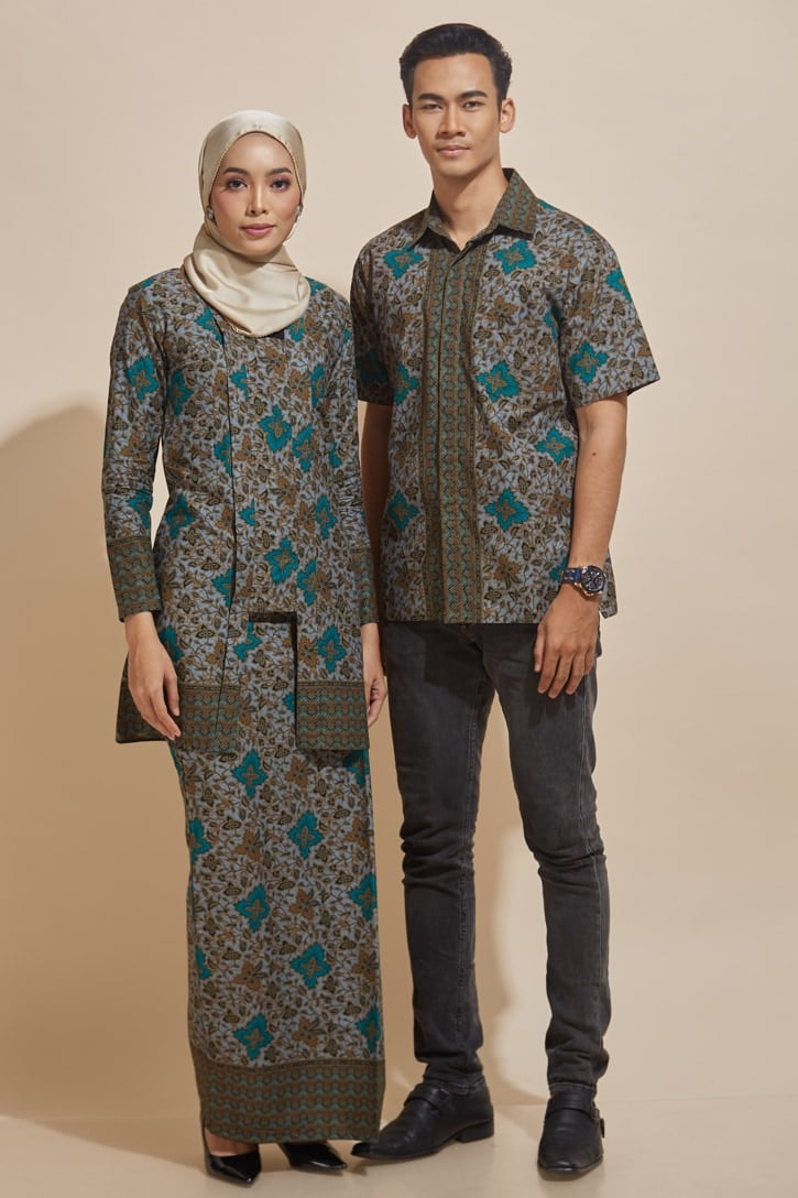 habra haute kebaya batik malaysia indonesia batik cotton kebaya moden kebaya peplum kebaya batik jawa kebaya batik modern kebaya nyonya kebaya batik 2019 kyna kebaya batik ky06