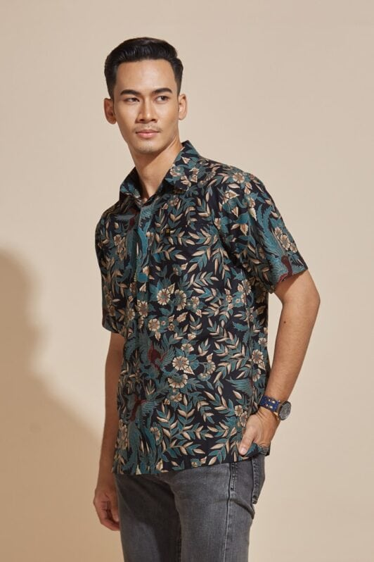 habra haute batik sedondon couple set kebaya batik malaysia indonesia batik cotton kebaya moden kebaya peplum kebaya batik jawa modern batik 2019 khaled kemeja kh78