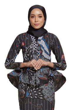 habra haute kebaya nyonya kebaya batik malaysia indonesia batik cotton kebaya moden kebaya batik jawa kebaya batik modern kebaya batik 2019 kaisara kebaya peplum ks73