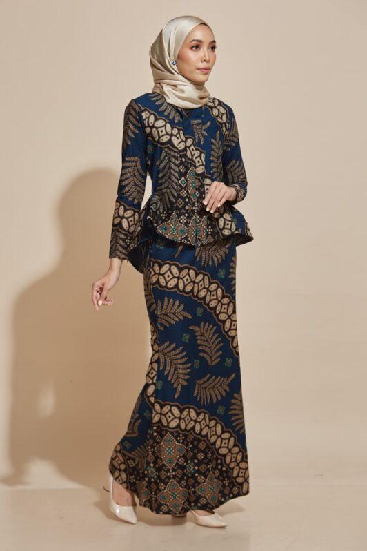 habra haute kebaya nyonya kebaya batik malaysia indonesia batik cotton kebaya moden kebaya batik jawa kebaya batik modern kebaya batik 2019 kaisara kebaya peplum ks80