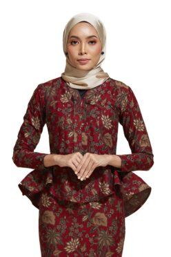 habra haute kebaya nyonya kebaya batik malaysia indonesia batik cotton kebaya moden kebaya batik jawa kebaya batik modern kebaya batik 2019 kaisara kebaya peplum ks81