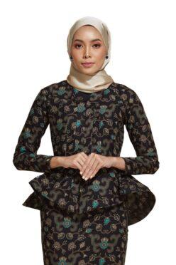 habra haute kebaya nyonya kebaya batik malaysia indonesia batik cotton kebaya moden kebaya batik jawa kebaya batik modern kebaya batik 2019 kaisara kebaya peplum ks83