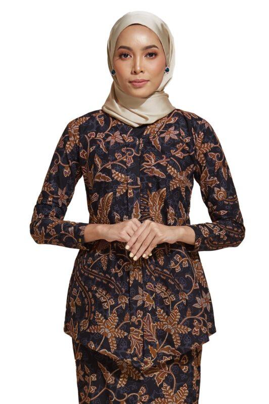 habra haute kebaya nyonya kebaya batik malaysia indonesia batik cotton kebaya moden kebaya peplum kebaya batik jawa kebaya batik modern kebaya batik 2019 kara kr 77 (2)