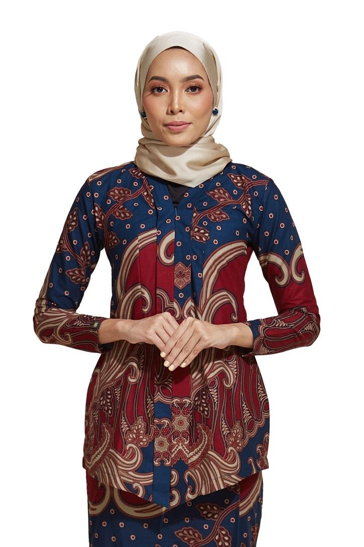 habra haute kebaya nyonya kebaya batik malaysia indonesia batik cotton kebaya moden kebaya peplum kebaya batik jawa kebaya batik modern kebaya batik 2019 kara kr79