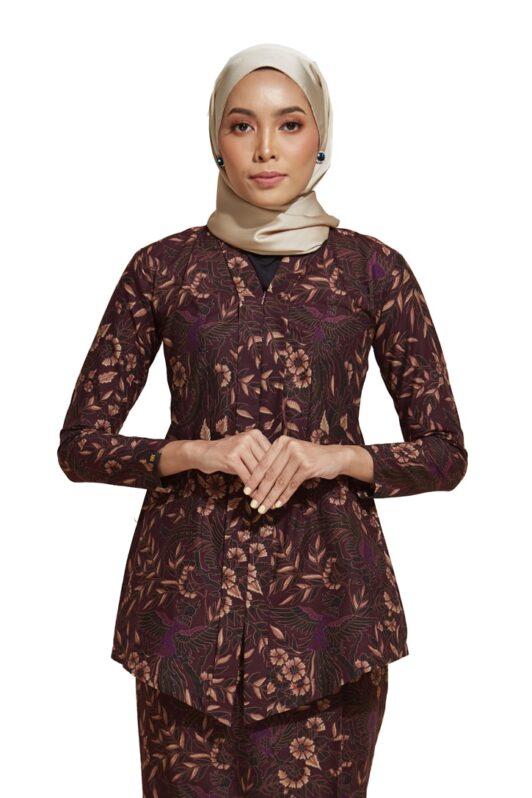 habra haute kebaya nyonya kebaya batik malaysia indonesia batik cotton kebaya moden kebaya peplum kebaya batik jawa kebaya batik modern kebaya batik 2019 kara kr82