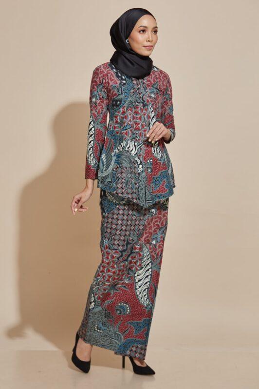 habra haute kebaya nyonya kebaya batik malaysia indonesia batik cotton kebaya moden kebaya peplum kebaya batik jawa kebaya batik modern kebaya batik 2019 kara kr86
