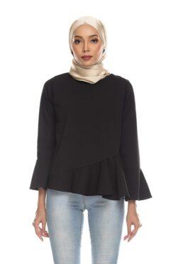 Habra Keara Kate blouse cantik blouse muslimah blouse designs blouse murah blouse and pants blouse Kate Black