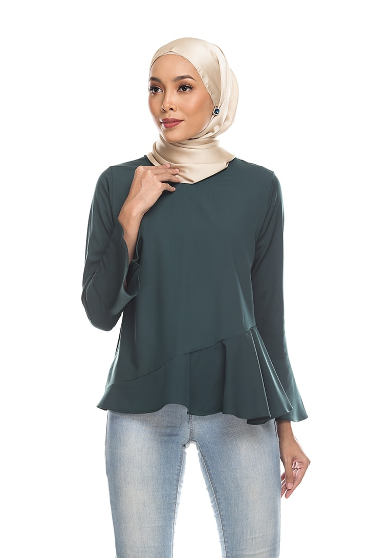 Habra Keara Kate blouse cantik blouse muslimah blouse designs blouse murah blouse and pants blouse Kate Green