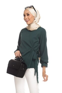 Habra Keara Kaylie blouse cantik blouse muslimah blouse designs blouse murah blouse and pants blouse Kaylie Green