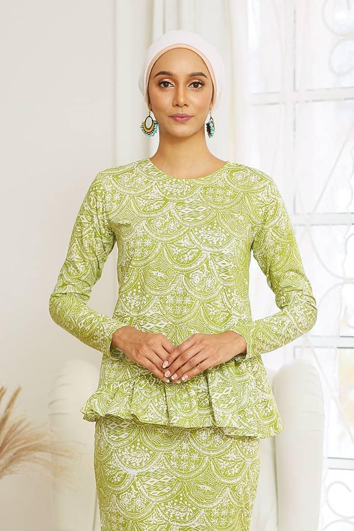 Baju Kurung Ruffle Kurung Moden Kurung Modern Baju Kurung Riau Baju Kurung Peplum Viral Baju Kurung Pastel Baju Kurun Hijau Baju Kurung Jasmin