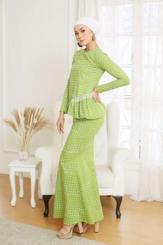 Baju Kurung Ruffle Kurung Moden Kurung Modern Baju Kurung Riau Baju Kurung Peplum Viral Baju Kurung Pastel Baju Kurung Hijau Baju Kurung Jasmin