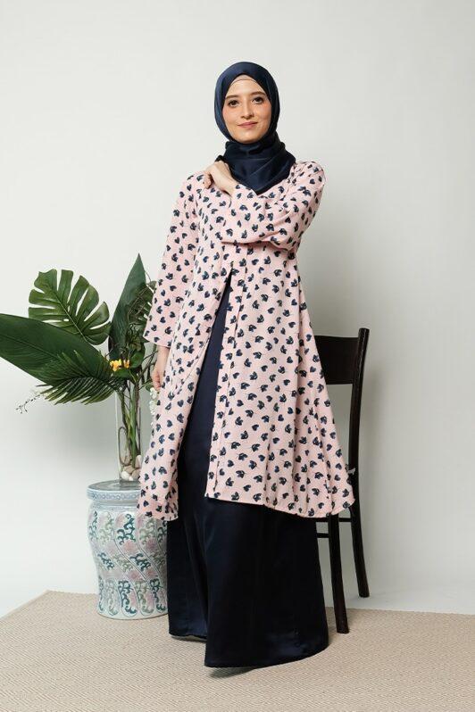 habra haute kebaya labuh riau kebaya labuh tradisional kebaya labuh moden klasik kebaya labuh indonesia pink KD24 1