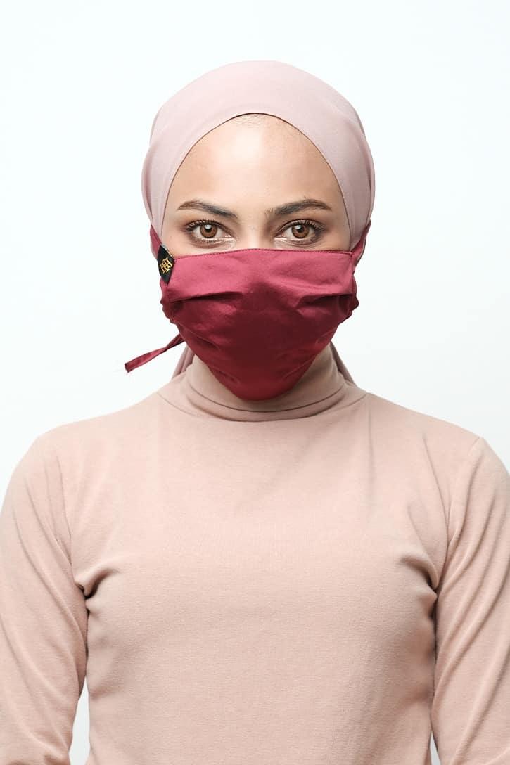 habra haute face mask kain pelitup muka bertali fm03