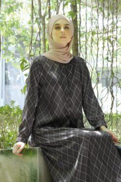 habra haute emma skirt set skirt kembang skirt labuh skirt muslimah skirt and blouse skirt set outfit skirt set summer skirt set casual skirt summer brown EM10
