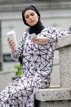 habra haute emma skirt set skirt kembang skirt labuh skirt muslimah skirt and blouse skirt set outfit skirt set summer skirt set casual skirt summer white EM20
