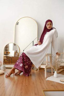 habra haute baju kurung pahang baju kurung riau baju kurung cekak musang baju kurung melaka baju kurung labuh baju kurung batik sedondon batik baju raya 2021 kadija KD34