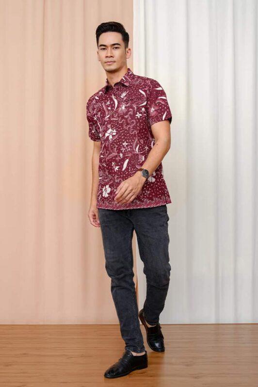 habra haute batik sedondon couple set kurung batik malaysia indonesia batik cotton kemeja batik jawa modern batik baju raya 2021 khaled KH91