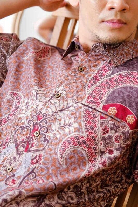 habra haute batik sedondon couple set kurung batik malaysia indonesia batik cotton kemeja batik jawa modern batik baju raya 2021 khaled KH92