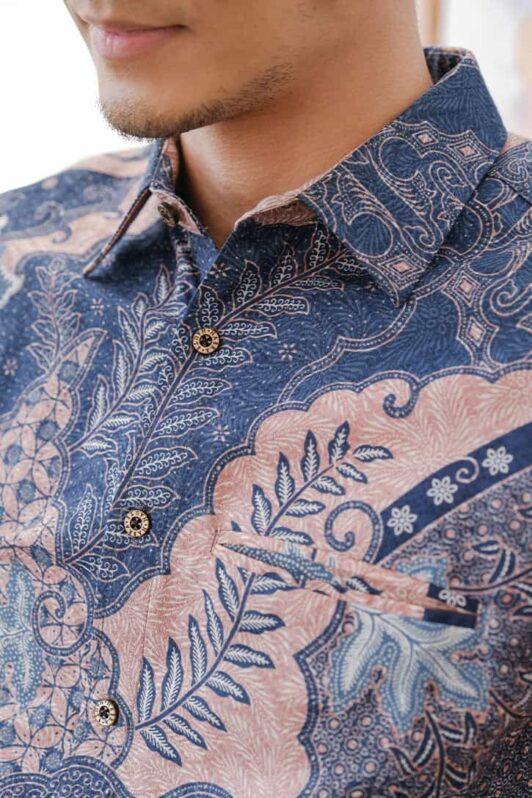 habra haute batik sedondon couple set kurung batik malaysia indonesia batik cotton kemeja batik jawa modern batik baju raya 2021 khaled KH93