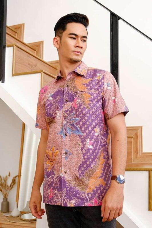 habra haute batik sedondon couple set kurung batik malaysia indonesia batik cotton kemeja batik jawa modern batik baju raya 2021 khaled KH94