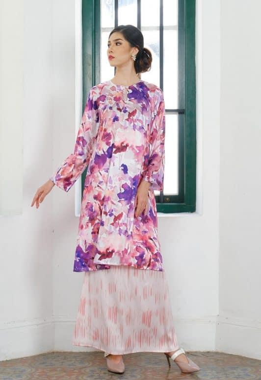 Habra Haute Baju Kurung Pahang Moden Kurung Pahang Riau Kurung Pahang Tradisional Latifa