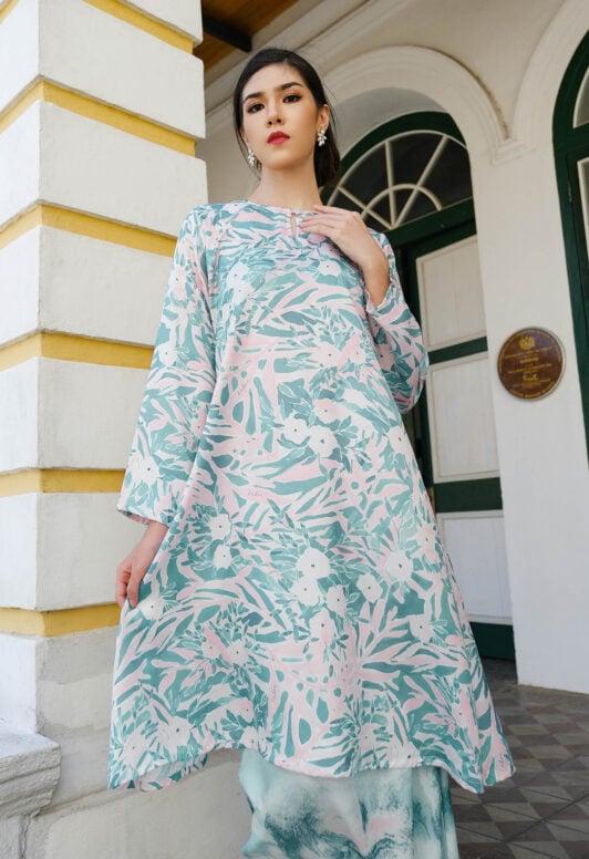 Habra Haute Baju Kurung Pahang Moden Kurung Pahang Riau Kurung Pahang Tradisional Latifa LT06 NEW (2)