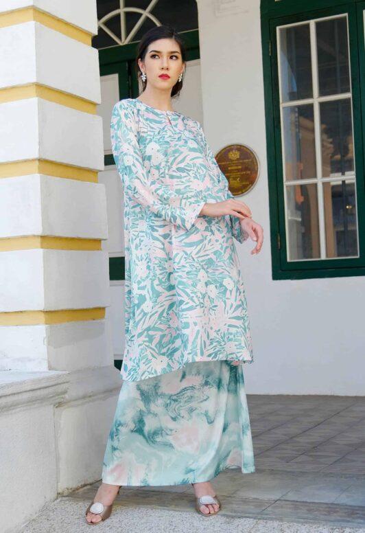 Habra Haute Baju Kurung Pahang Moden Kurung Pahang Riau Kurung Pahang Tradisional Latifa LT06 NEW