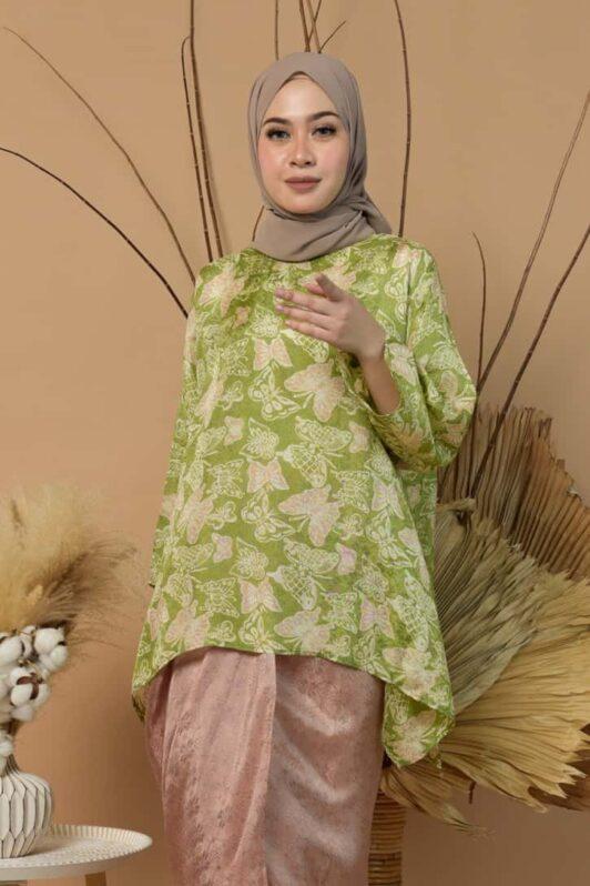 Habra Haute Kurung Batik Moden Kurung Batik Viral Kurung Batik Pastel Kurung Batik Viscose Kurung batik Malaysia Jawa Lukis Mahsuri MR